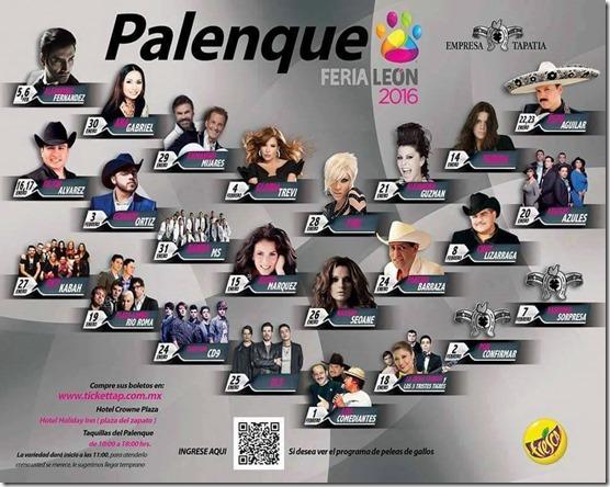 Palenque Feria de Leon 2016 venta de boletos tickettap en primera fila baratos no agotados