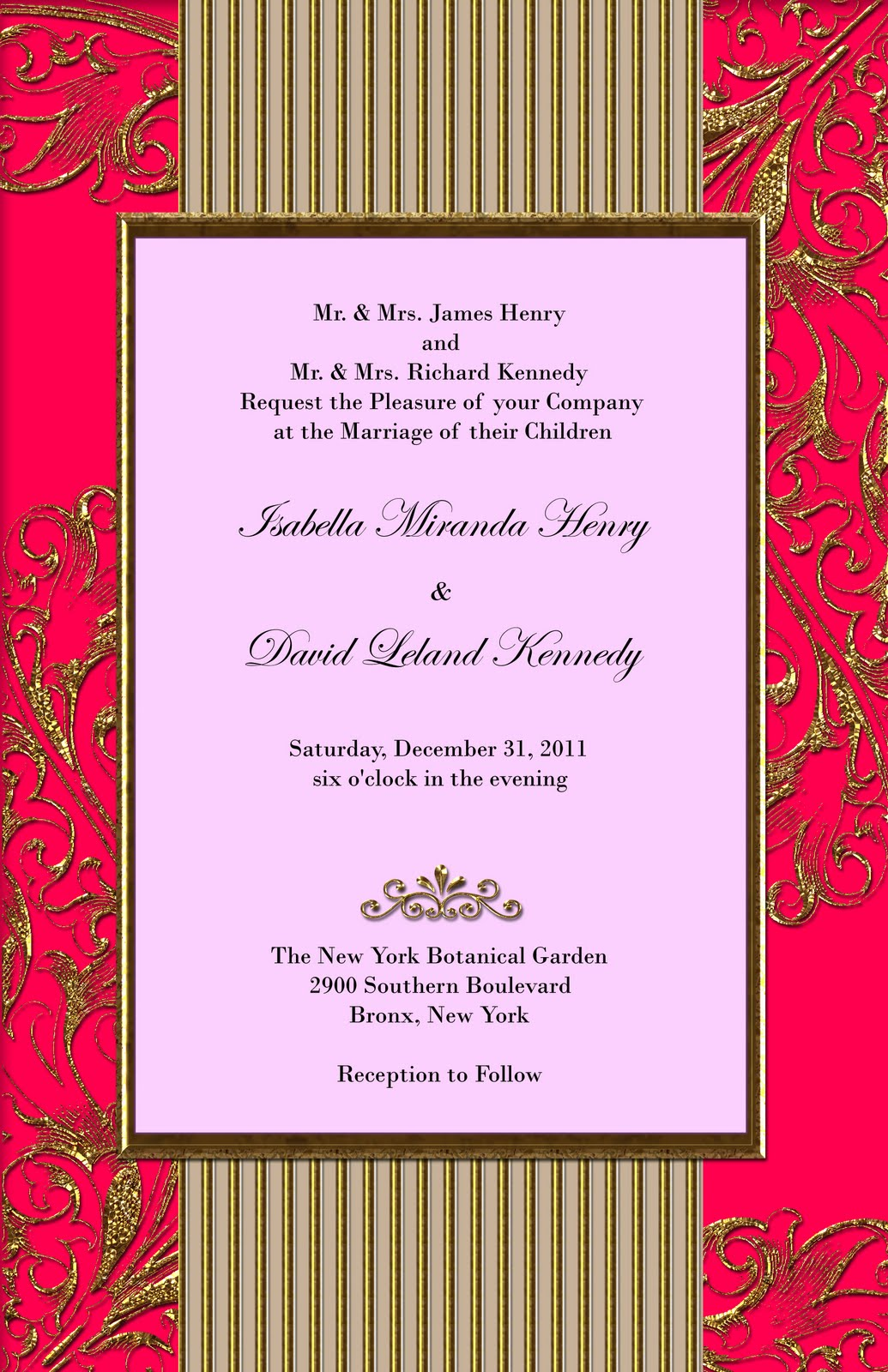 Turil\'s blog: examples of wedding programs