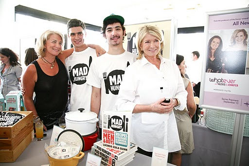 Calder and Miles rockin' the MH t-shirt with LSQ and Martha