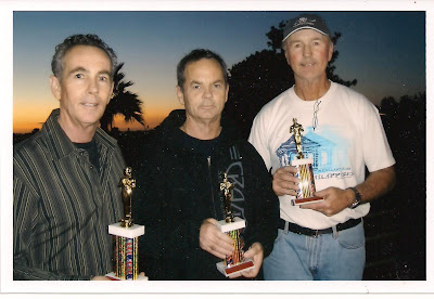 Brad, Bruce & Brian after receiving their Freestyle Hall Of Fame Trophies in 2009