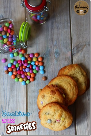 Cookies aux Smarties 4