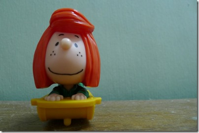 McDonald's happy meal X The Peanuts Movie 2015 toys: Peppermint Patty