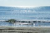 De zee nabij Laganas.