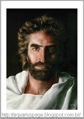 Jesus pintado por Akiane que ela chamou de Principe da Paz.