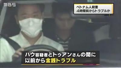 kẻ giết người Việt ở Nhật Bản đã bị bắt