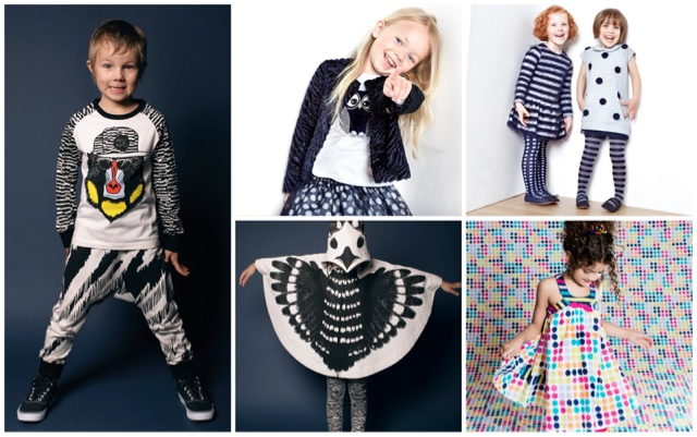 childrens fashion prints