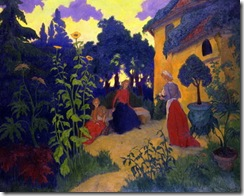Gouter au Pays basque (Ete) by Paul Ranson