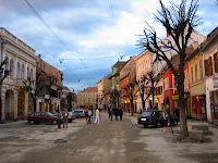 Sibiu, Romania: They were replacing the cobblestones.