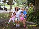 Grandma, Mom and Sweet Little Girs at Patty's Patch U-Pick