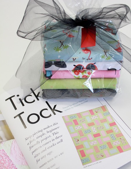 Tick Tock quilt kits