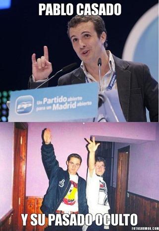 Pablo Casado y su pasado