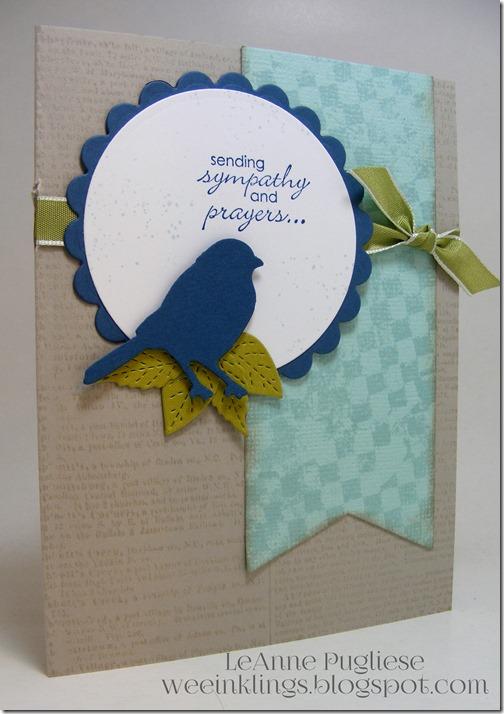 LeAnne Pugliese WeeInklings Bird Sympathy