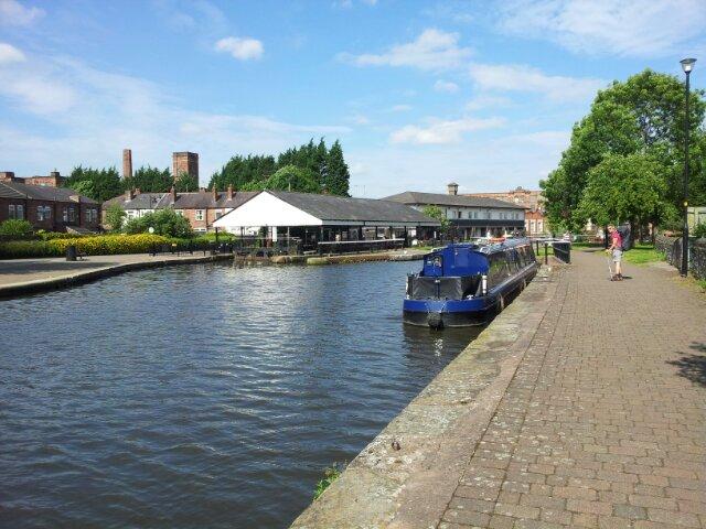 Wigan Pier 2015 Then Past The Wigan Pier