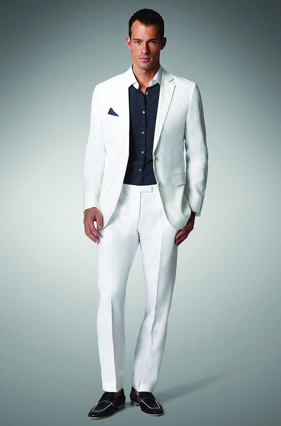 Mode Suite     White Suit  410