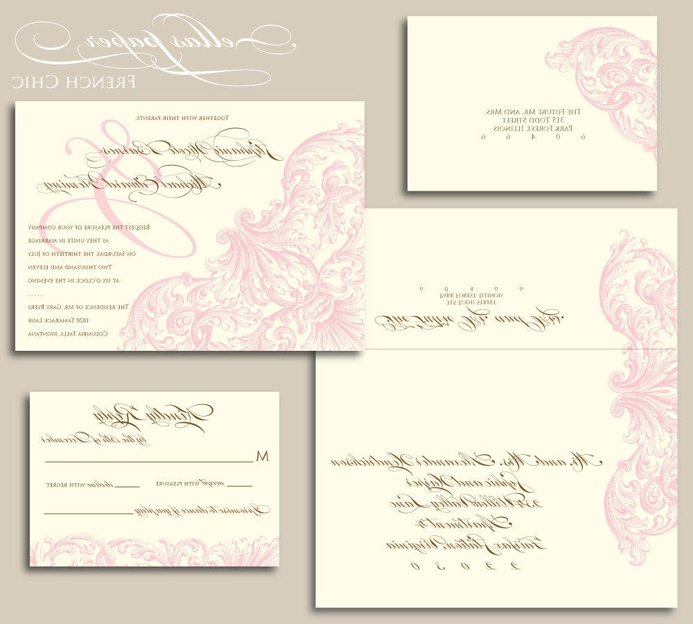 Pink Ampersand Wedding