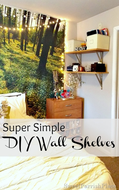 DIY Wall Shelves8
