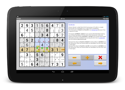 Sudoku 10'000 Plus- screenshot thumbnail