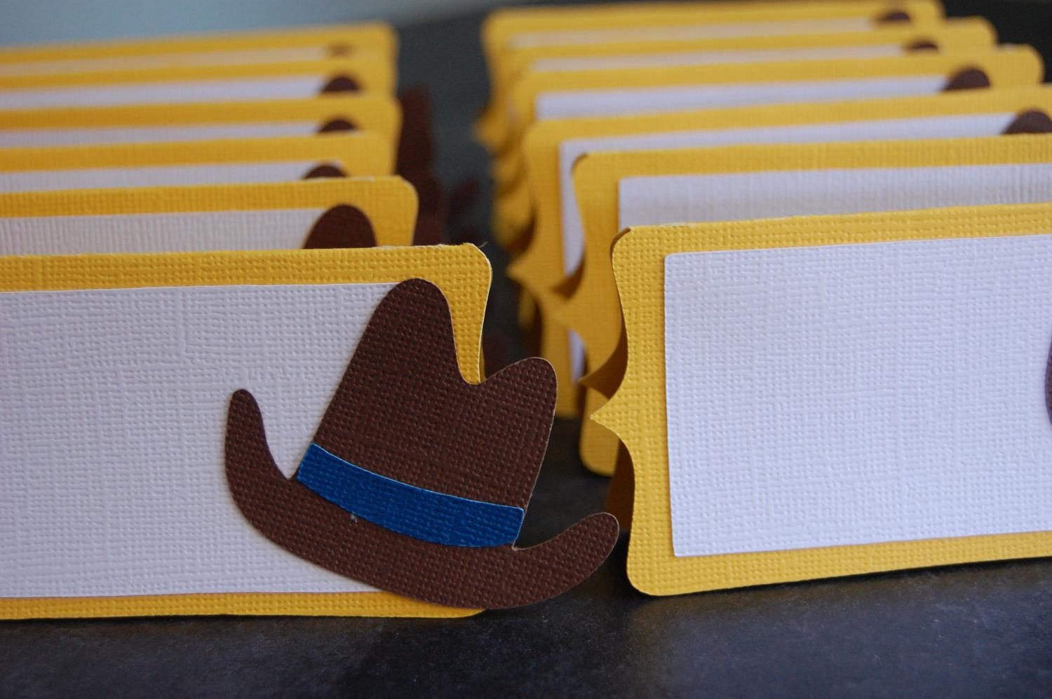 Cowboy Hat Food Labels,