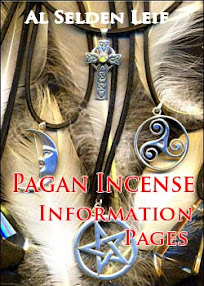 Cover of Al Selden Leif's Book Pagan Incense Information Pages
