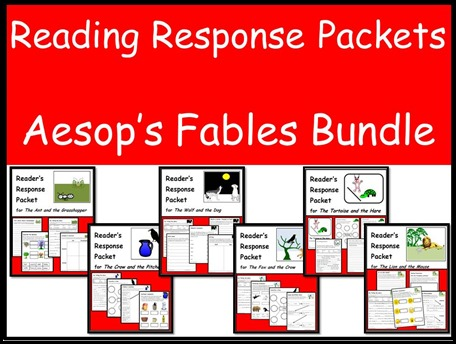 Reading Response Packets - Aesop Fables