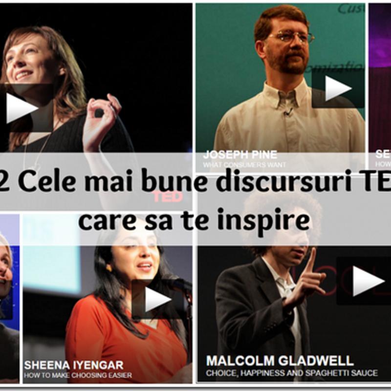 22 Cele mai bune discursuri TED care să te inspire [subtitrare în română]