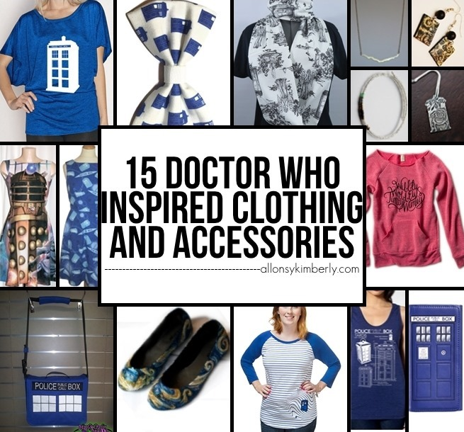 Fangirl Fashions: 15 Doctor Who Inspired Clothing and Accessories | allonsykimberly.com
