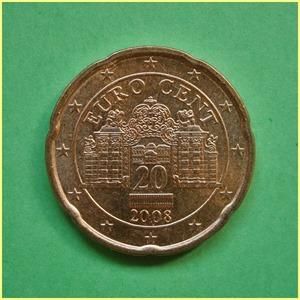 Austria 20 céntimos Euro