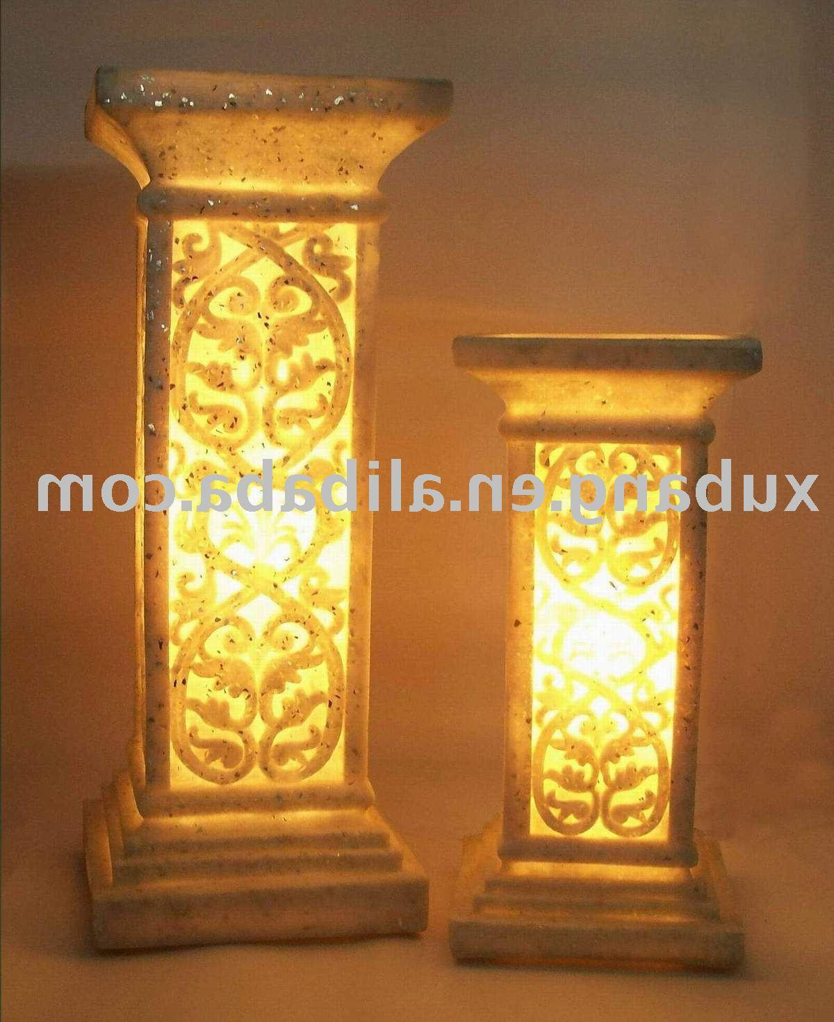 garden decoration column
