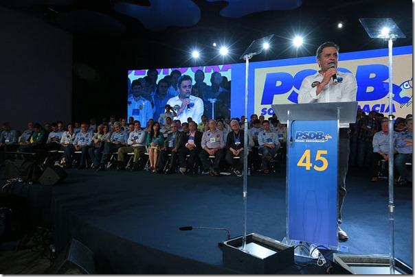 Rogério na convenção nacional do PSDB