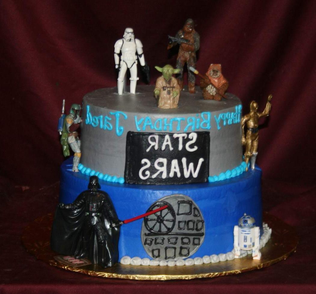 this 2 tier birthday cake