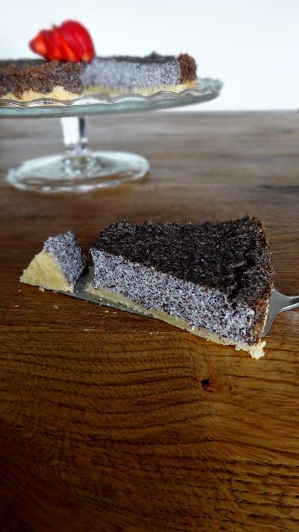Käse - Mohn - Kuchen, vegan