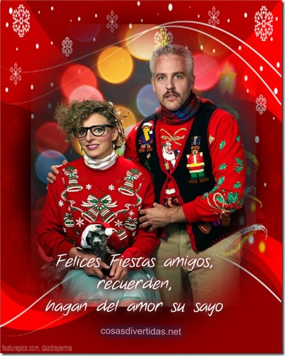 feliz navidad gente rara y fea cosasdivertidas (8)