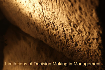 Limitations of Decision Making