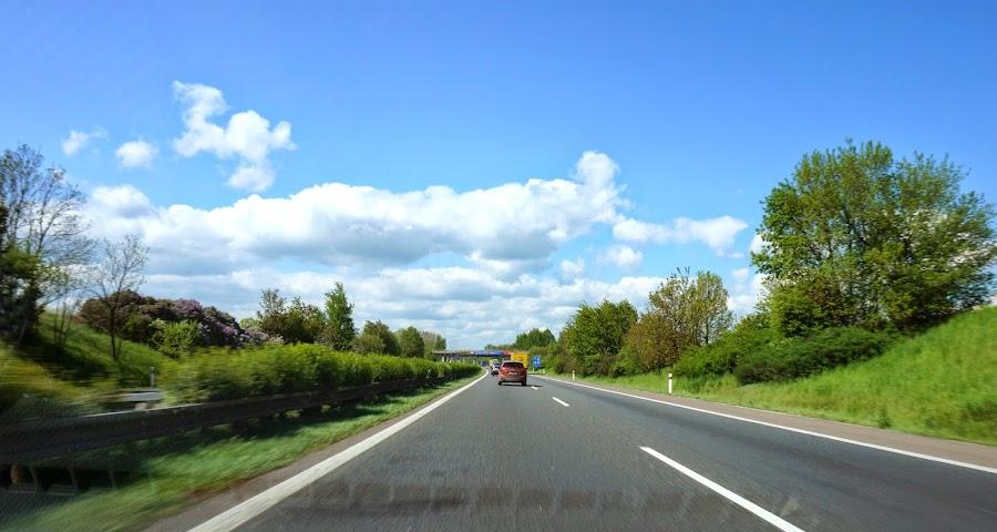Чешско-немецкий автобан
