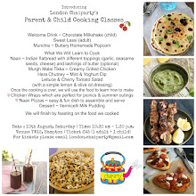 London Chaiparty Parent & Child Cooking class