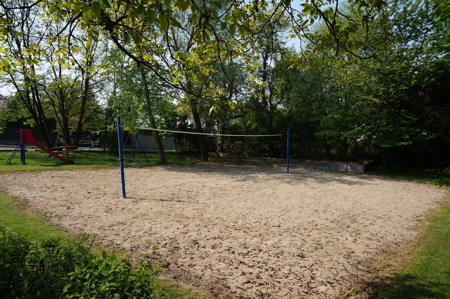 Волейбольная площадка в Праге