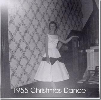 1955 Christmas dance