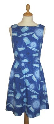 Doctor Who TARDIS Print Dress from Geek Boutique