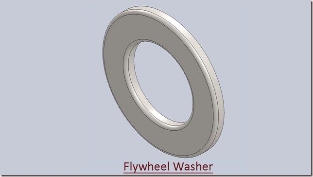 Flywheel Washer