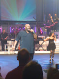 Ruben Stoddard at the Finalist's Live show at the Andy Williams Moon River Theater in Branson MO 08182012-02