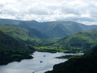Ullswater from Brown Hills