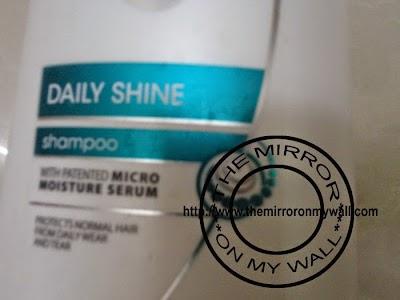 Dove Damage therapy Daily Shine Shampoo 3.JPG