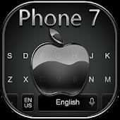 Keyboard for Phone 7 Jet Black APK for Bluestacks