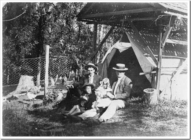 backyard camping australia