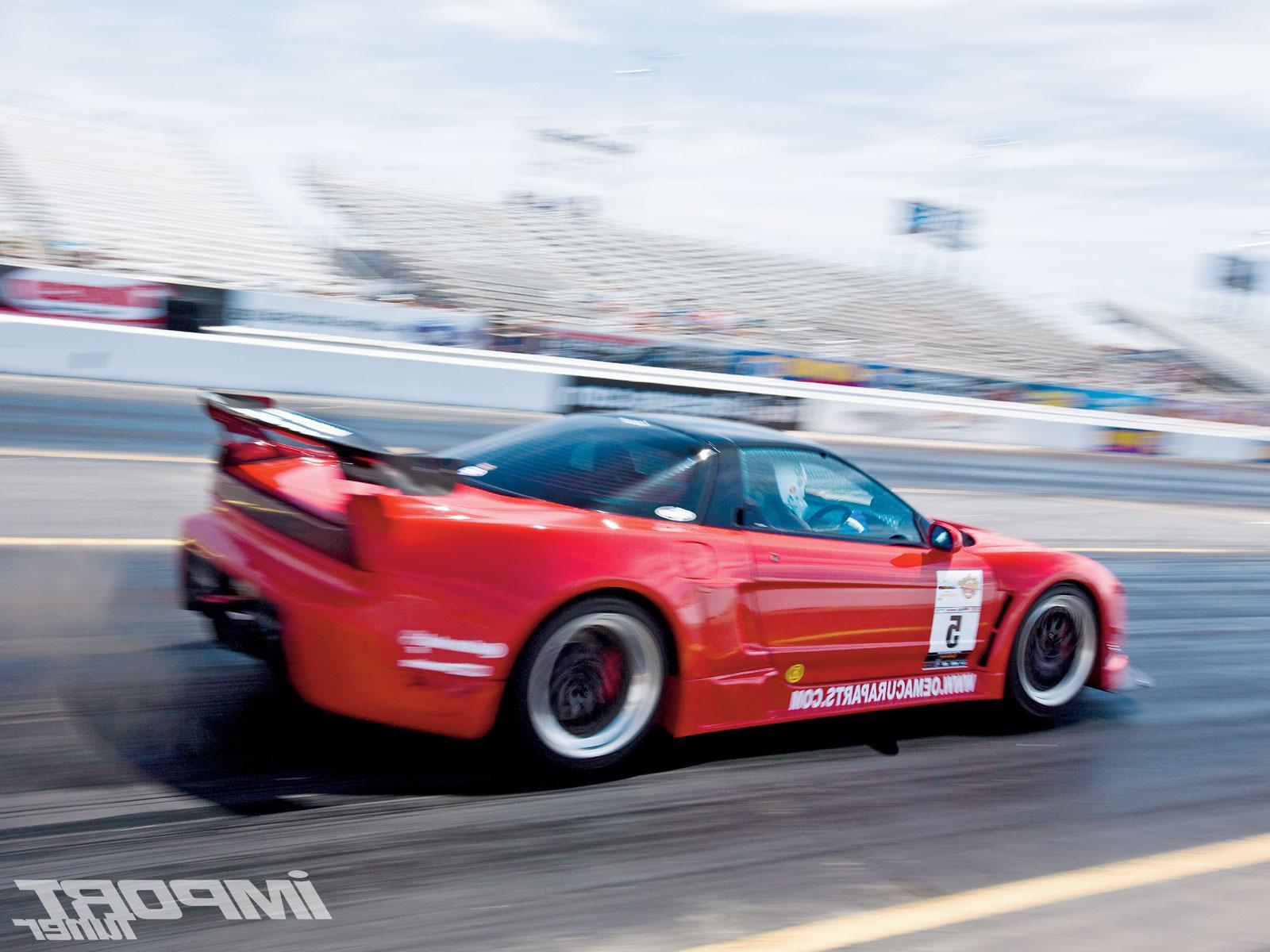 NSX Drag Racing
