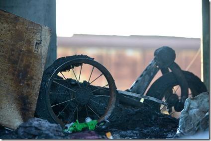 Incendio - pobreza