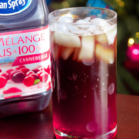 Non-Alcoholic Cranberry Bomber