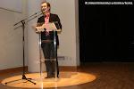 José Luis Ruiz del Puerto lee el nombre de los premiados en la 7ª edición de los Premios Trujamán