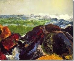Monhegan_Island_by_George_Wesley_Bellows_1913