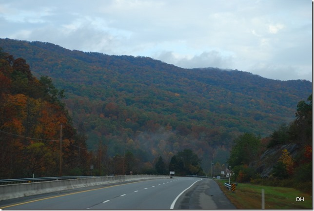 Travel from Kingsport to Cumberland I26-US11W-US25E (93)